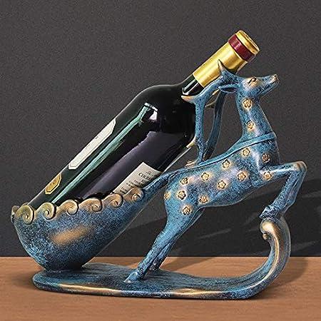 DC Wesley Estantería Moderno Estante del Vino Europeo Decoración del Gabinete del Vino Regalo del Arte Creativo Hogar Decoración De La Sala