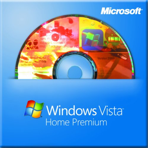 Prem Dvd Home Vista (Microsoft Windows Vista Home Premium 64-bit English 1pk)