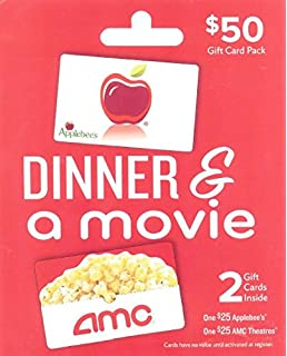 Amazon.com: AMC Movie Theatre Tickets For Two Experience Gift Card ...