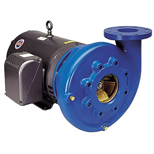 Goulds Centrifugal Pump (Goulds Water / Xylem - 6BF1K9E0 - Bronze 7-1/2 HP Centrifugal Pump, 3 Phase, 230/460VAC Voltage)