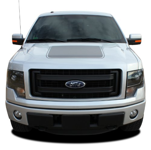 FORCE HOOD - SCREEN PATTERN : 2009-2014 Ford F-150 Series Wide Center Hood
