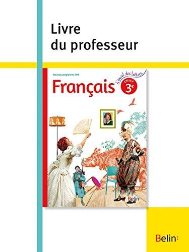 Telecharger Francais 3e Livre Du Professeur Collectif