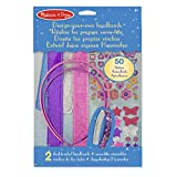 Melissa & Doug Design-Your-Own Headbands Jewelry-Making Kit with 50+ Stickers