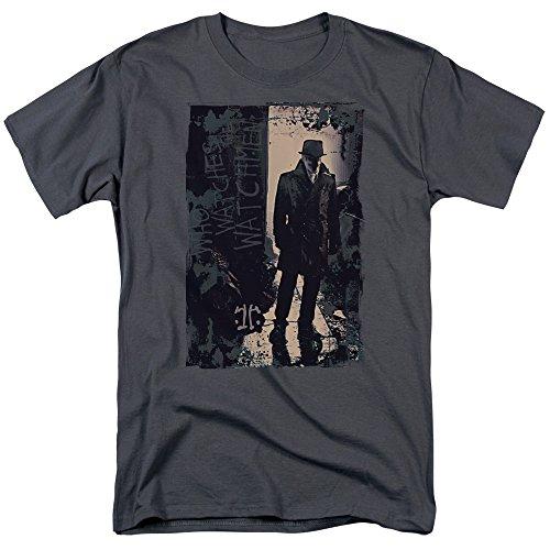 Watchmen Crime Action Comic Superhero Movie Light Adult Mens T-Shirt Tee