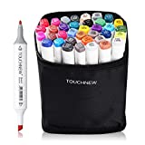 Best Color Markers - 36 Color TOUCHNEW Graphic Drawing Painting Art Dual Review