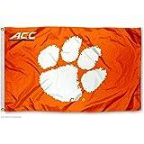 Clemson University Tigers ACC 3x5 Flag