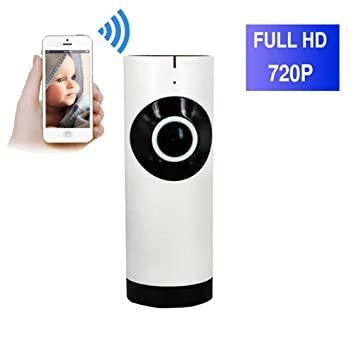 ShengyaoHul 720P HD Intercomunicador De Voz De Dos Vías Cámara De Vigilancia Ip, 1 Mp