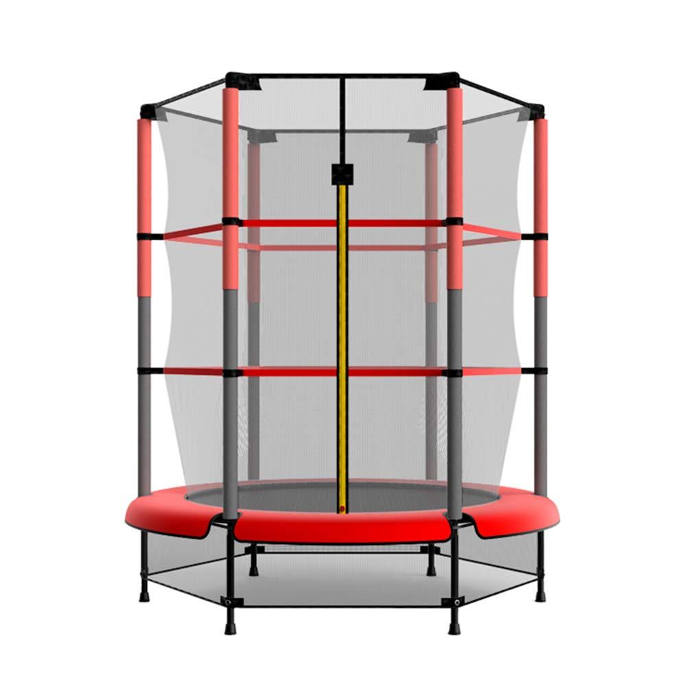53 Zoll Trampolin Fitness mit Sicherheits Pad Max Belastung 150 kg, Trampolin Trainer Tragbare Trampolin Cardio Workout Fitness