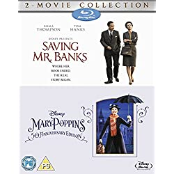 Saving Mr Banks & Mary Poppins [Blu-Ray][Region Free]