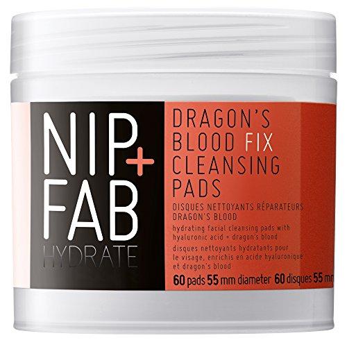Nip+Fab Dragons Blood Fix Cleansing pads, 1er Pack (1 x 80 ml)
