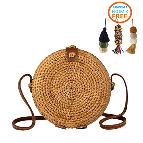 MadeTerra Rattan Crossbody Bags for Women | Square Woven Wicker Straw Purses (7"|500|500|?|76d67070a37ccaa3e3e2a051a73f46b6|False|UNLIKELY|0.3159937262535095