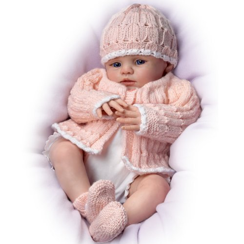 Abby Rose So Truly Real® Award-Winning Lifelike, Realistic Newborn Baby Doll 18-inches by The Ashton-Drake Galleries -