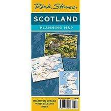 Rick Steves Scotland Planning Map: Including Edinburgh & Glasgow City Maps