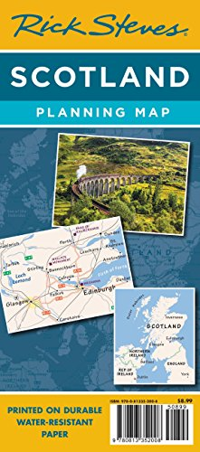 (Rick Steves Scotland Planning Map: Including Edinburgh & Glasgow City Maps (Rick Steves Planning Maps))