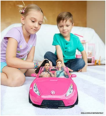Barbie Glam Convertible Doll Vehicle from Mattel