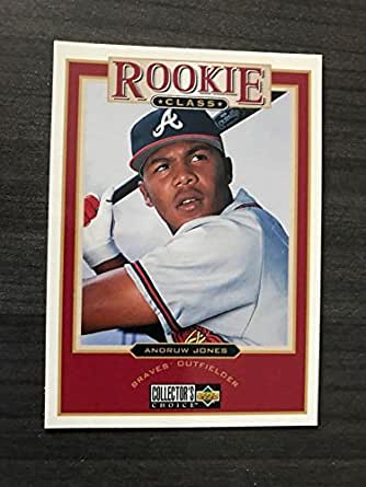 1997 andruw jones ud collectors choice rookie class 1 collectibles fine art. Black Bedroom Furniture Sets. Home Design Ideas