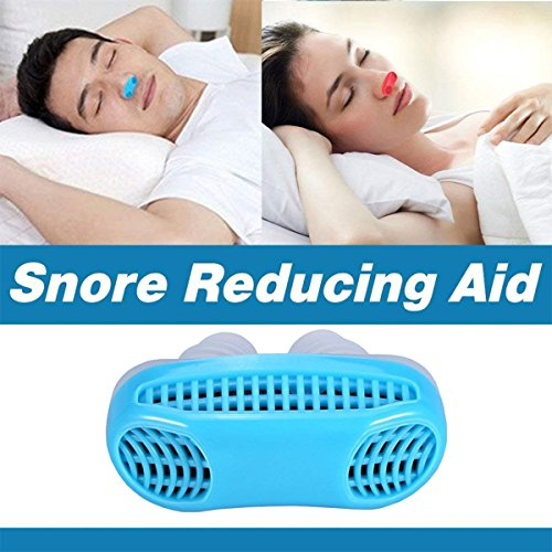 Snoring Solution, Anti Snoring Devices Snore Stopper, Stop Snoring, Best Airing Air Purifier Nose Vents Nasal Dilator, to Give You a Good Night's Sleep (blue) by SIYU (Image #2)
