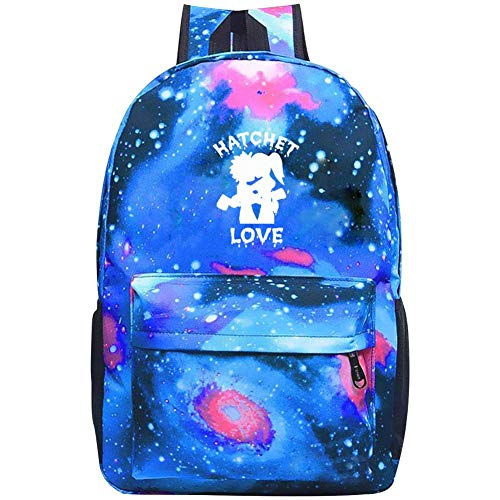 ETJIJCKDI Galaxy School Backpack, Star Sky Students with Laptop Compartment Backpack for Unisex Girls Boys Casual Book Sports School Backpack