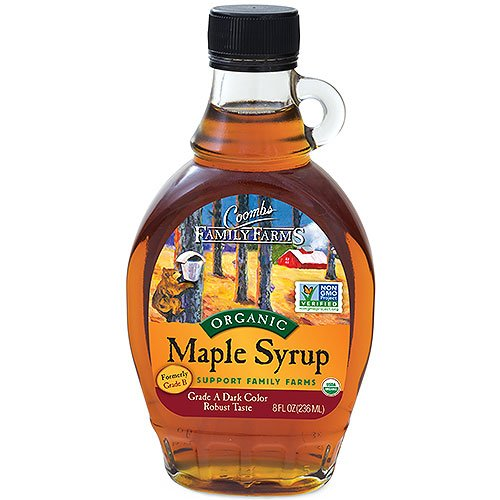 Coombs Family Farms, Maple Syrup, Grade A (Formerly Grade B), Organic, 8 oz
