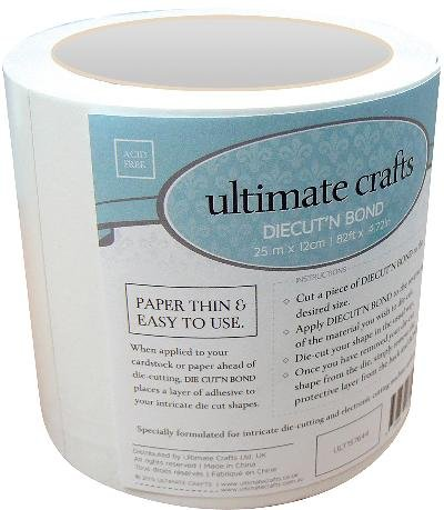 (Artdeco Creations 157644 Ultimate Crafts Diecut'N Bond Double-Sided Tape 4.72