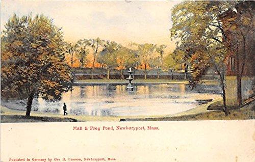 Mall & Frog Pond Newburyport Massachusetts - Ma Mall