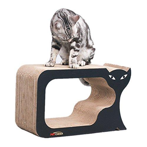 PetCheer Premium Cat Scratcher Lounge with Catnip