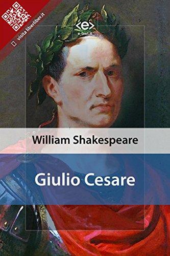 giulio cesare liber liber italian edition