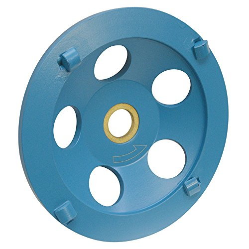 PROLINEMAX 5'' Concrete PCD Cup Wheel 7/8'' - 5/8'' Arbor 4 Segments Epoxy, Coating Removal, Grinding