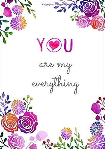 Amazon.com: You Are My Everything: Medium Journal Notebook ...