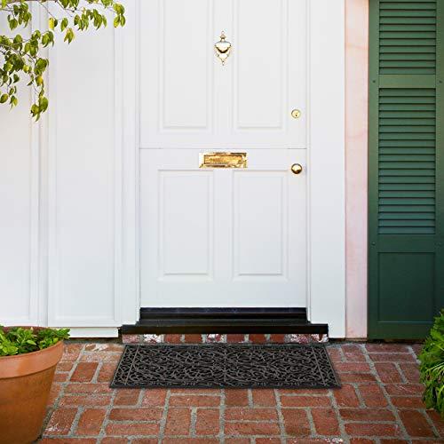 Calloway Mills 900222436 Gatsby Rubber Doormat 24 Quot X 36