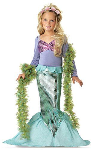 Little Mermaid Costume - Medium (Sea Mermaid Costume)