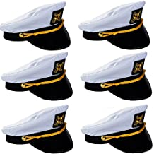 Captain Hats - Yacht Captain Hat - Sailor Hats for Men - by Funny Party Hats