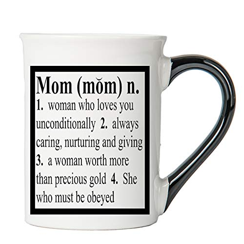 Mom Mug, Mom Coffee Cup, Ceramic Mom Mug, Mother's Day Gift By Tumbleweed -