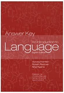 An introduction to language answer key 9780155084872 amazon books introduction to language answer key fandeluxe Image collections