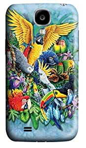 Birds of the Tropics 2 Polycarbonate Hard Case Cover for Samsung Galaxy S4/Samsung Galaxy I9500 3D