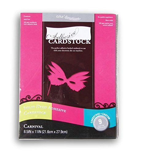 CORE'DINATIONS GX-2100-03 Cardstock Adhesive Carnival, 8.5x11