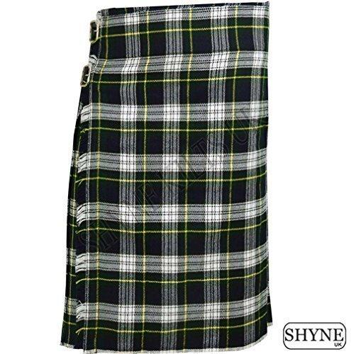 Gordon Dress - Dress Gordon Men's 5 Yard Scottish Kilts Tartan Kilt 13oz Highland Casual Kilt (40