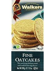 Walkers Shortbread Fine Oatcakes (Galettes D'Avoines Fines), 9.8-Ounce Boxes (Pack of 4)