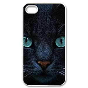 Cat DIY Hard Case For Apple Iphone 4/4S Case Cover LMc-87395 at LaiMc