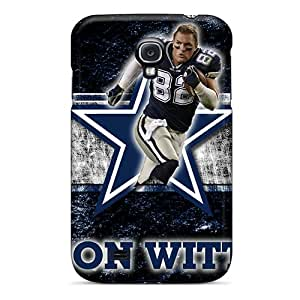 Premium Durable Dallas Cowboys Fashion Tpu Galaxy S4 Protective Cases Covers