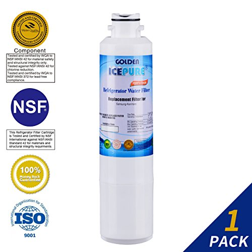 Price comparison product image Golden Icepure Refrigerator Water Filter Replacement, Compatible With Samsung DA2900020B, HAF-CINEXP