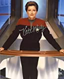 #10: Kate Mulgrew Signed / Autographed Star Trek Voyager 8x10 glossy photo as Captain Kathryn Janeway. Includes FANEXPO Certificate of Authenticity and Proof. Entertainment Autograph Original.