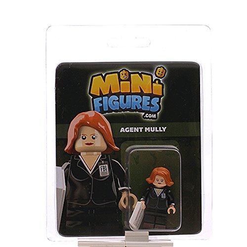 Custom Design Minifigure - X-Files FBI Agent Mully