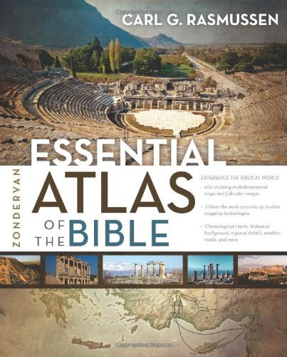 Essential Atlas of the Bible PB by Carl G Rasmussen (2014-01-28)