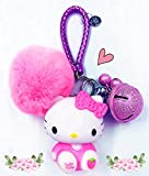 Hello Kitty Key Chain for Girls Women ❤Hello Kitty Gifts❤ | Hello Kitty Figures Sanrio Birthday Gift Bag Accessories (pink)