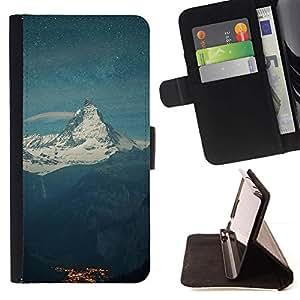Momo Phone Case / Flip Funda de Cuero Case Cover - el Monte Everest;;;;;;;; - Samsung Galaxy E5 E500