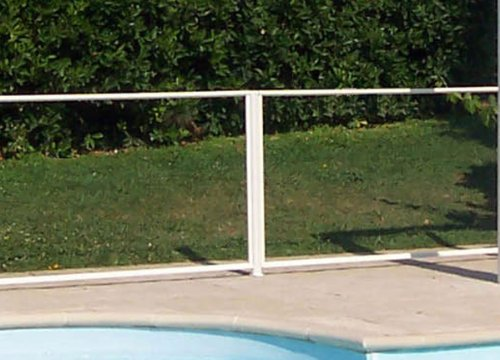 Chalet Jardin 24poteau Swimming Pool Safety Fence 6 X 117 Cm Buy