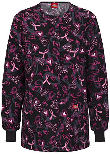 Dickies 84300C Women's Missy Fit Round Neck Jacket Care and Love 5X-Large by Dickies