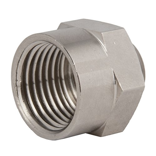 Hummel, AM-2512-BR, Nickel Plated Brass Thread Adapter M25 x 1.5 to 1/2
