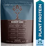 Plant Based Recovery Shake - Clean & Lean Post Workout Drink for Men & Women by LyfeFuel - Complete Vegan Protein Powder, BCAAs & Superfoods to Build Muscle & Reduce Soreness (Chocolate - 2 pound)